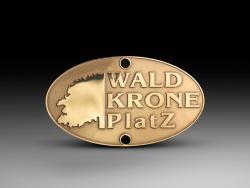 """Шильд """"WALD KRONE"""""""