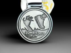 Медаль Zombie Run