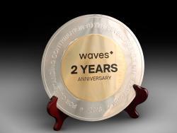 Награда Waves 2 years