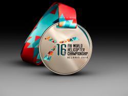 Медаль WORLD HELICOPTER CHAMPIONSHIP