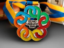 Медаль EGMO UKRAINE