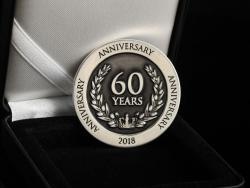 """Монета """"60 years"""""""